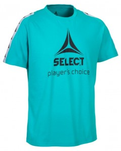 SELECT T-shirt Ultimate turkus XXL