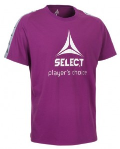 SELECT T-shirt Ultimate purpurowa XXL