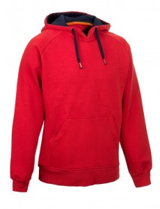 SELECT Bluza WILLIAM Hoody red L czerwona