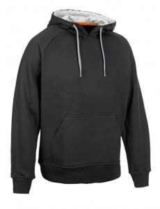 SELECT Bluza WILLIAM Hoody black 3XL czarna